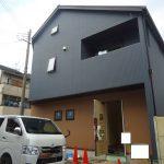 京都市右京区K様邸新築工事~外観完成・内部はクロス工事を残すのみです~