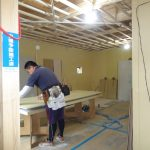 京都市山科区K様邸新築工事~大工工事・外壁の工事も進んでいます~