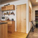 無垢材の建具(ドア)