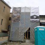 京都市左京区K様邸新築工事!棟上げ・上棟始まりました!いよいよ大工工事スタートです!