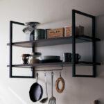 飾って、魅せて、楽しむ♡♡収納したい物やインテリアに合わせて!アイアンフレームのオープン棚「フレームシェルフ」